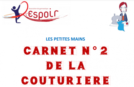 Carnet 2 couturiere photo