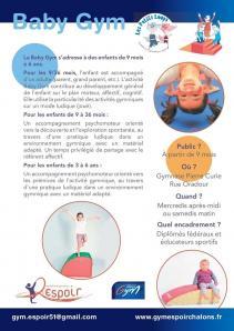 Espoir presentation baby gym 08 2020